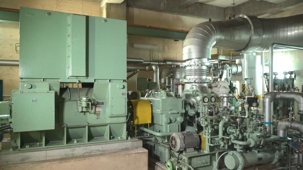 蒸気タービン・発電機