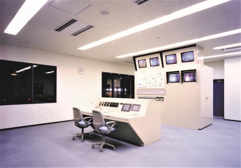 リサイクルプラザ中央制御室
